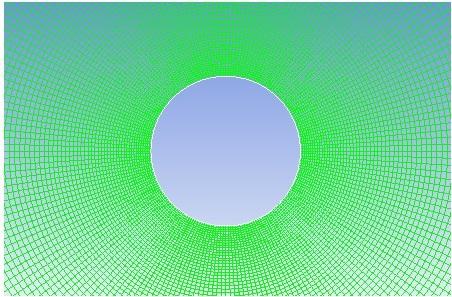 Laminar Flow around a Single Circular Cylinder ANSYS file