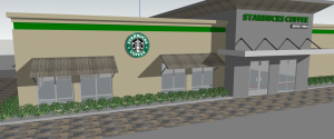 Starbucks Coffee Store 3D Sketchup Files