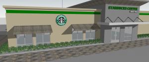 Starbucks Coffee Store 3D Sketchup Files