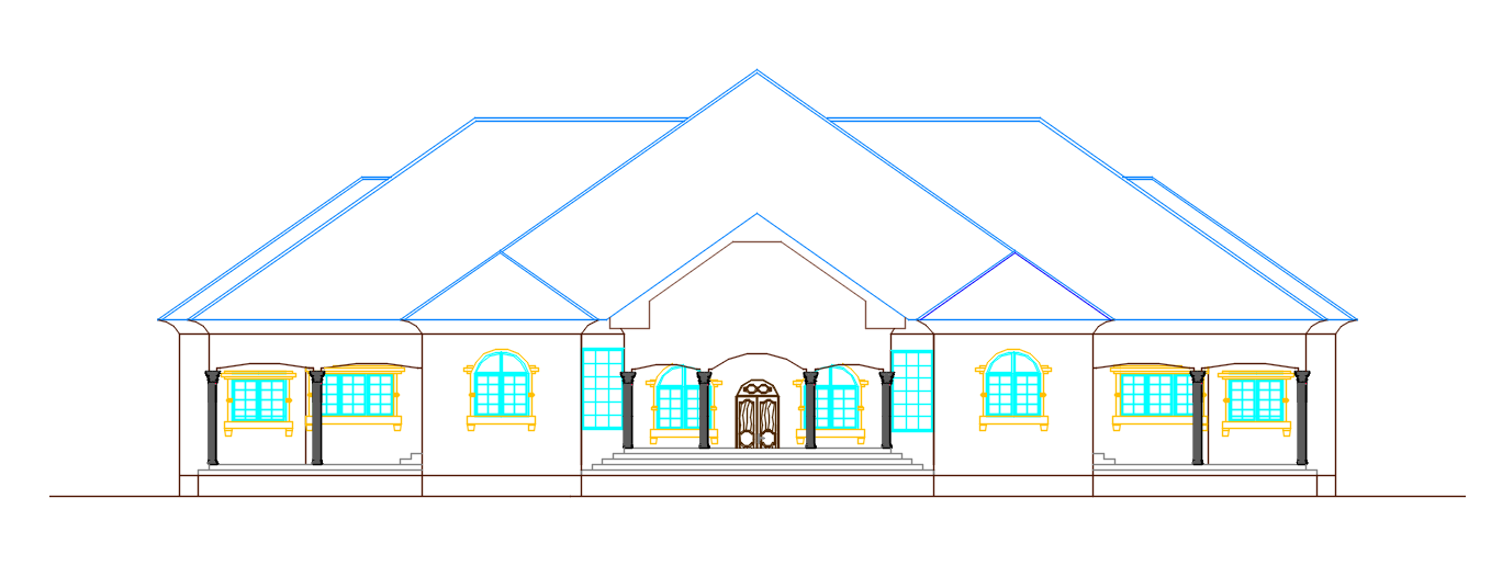 autocad house dwg file free download