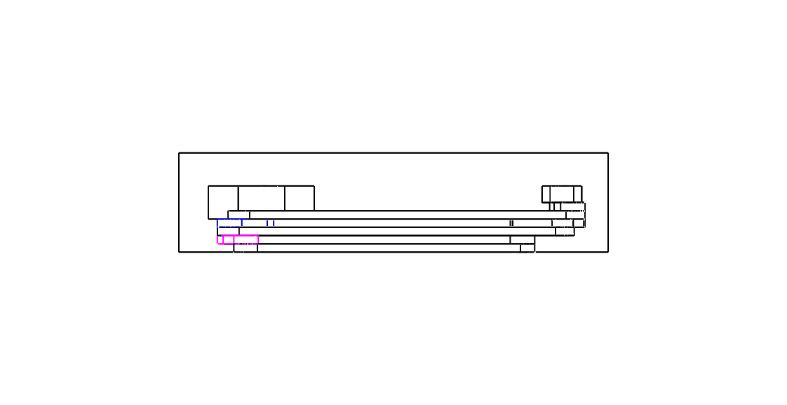 Four bar linkage parallel view
