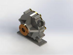 Rotary vane pump design Solidworks files