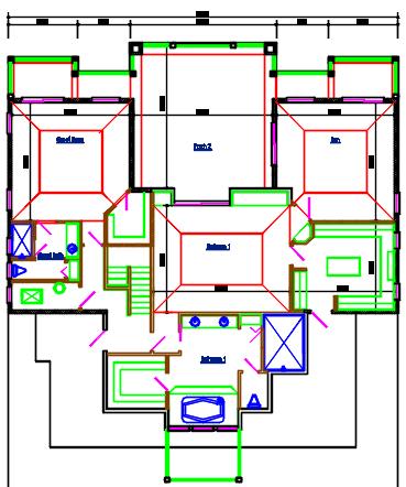 2nd floor Complete AutoCAD file