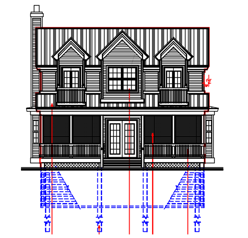 G+1 Residential House design Complete AutoCAD file