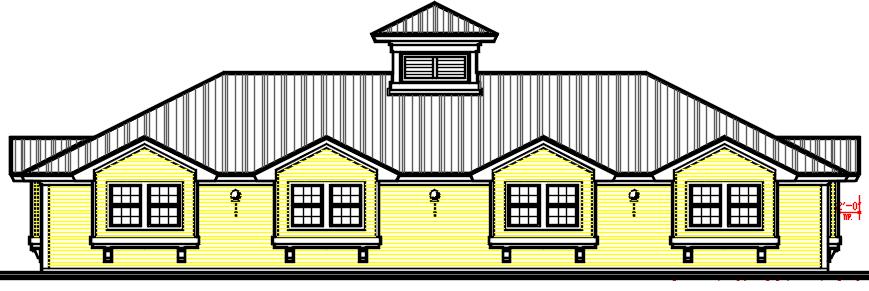 1. Floor plan 2. Elevations 3. Floor plan autocad