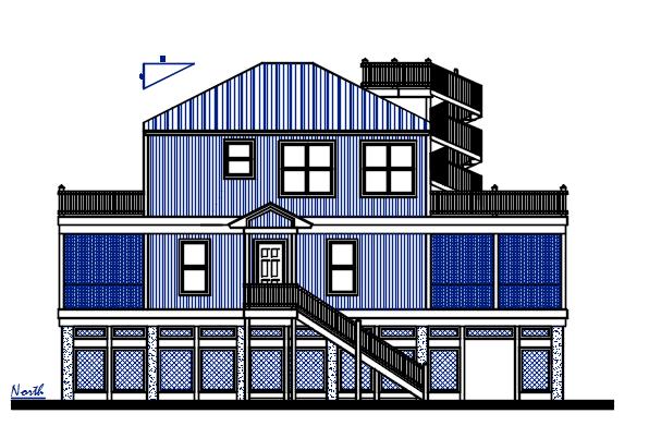 Three Floor House design Complete AutoCAD file