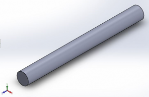 Cylindrical Thermal Fin ANSYS file for free download with Details