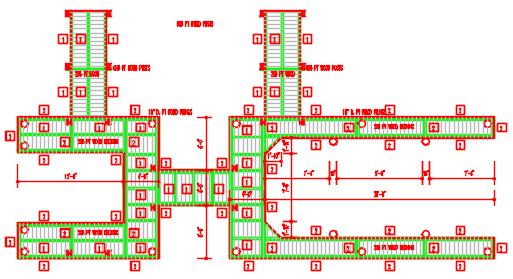 Service House design AutoCAD file