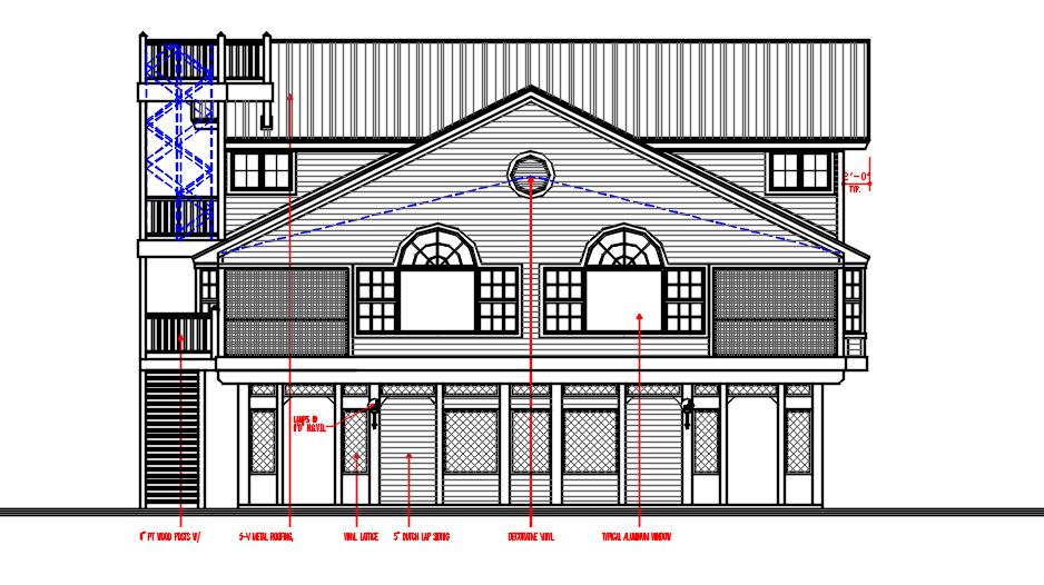 G+2 residence House design