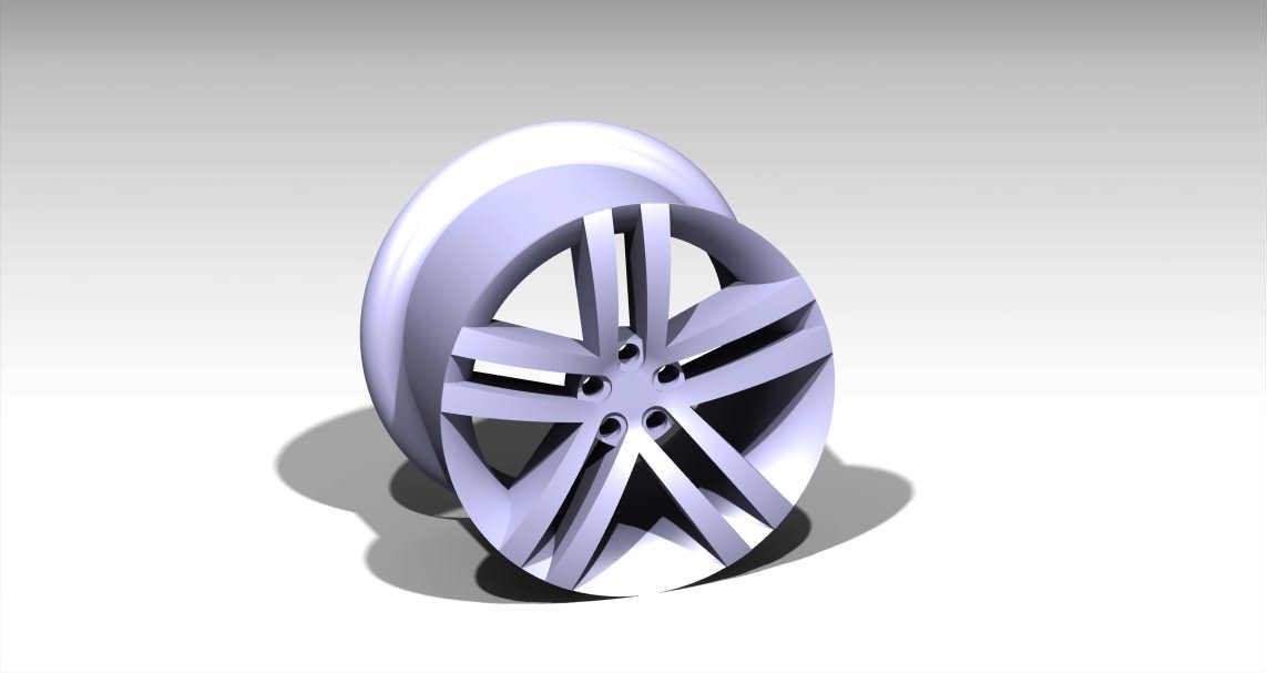 Rim Design Using Catia
