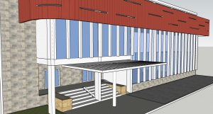 Office Building File for Free Download