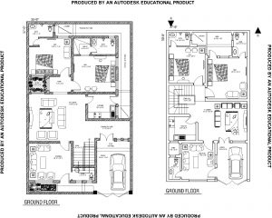 35 x 57 House Floor Plan File for Free Download