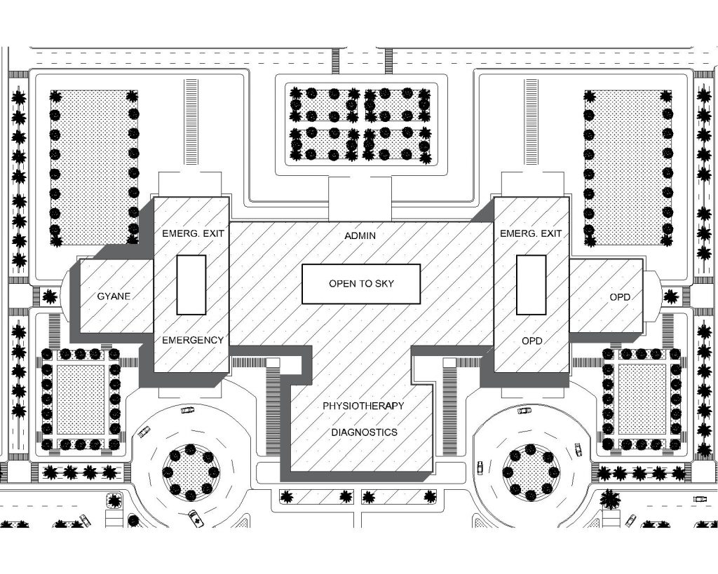 Hospital Master Plan File for Free Download | Editable Files