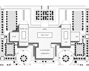 Hospital Master Plan File for Free Download